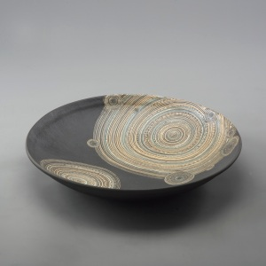 Mud Ring Platter by Yutaka Tanaka