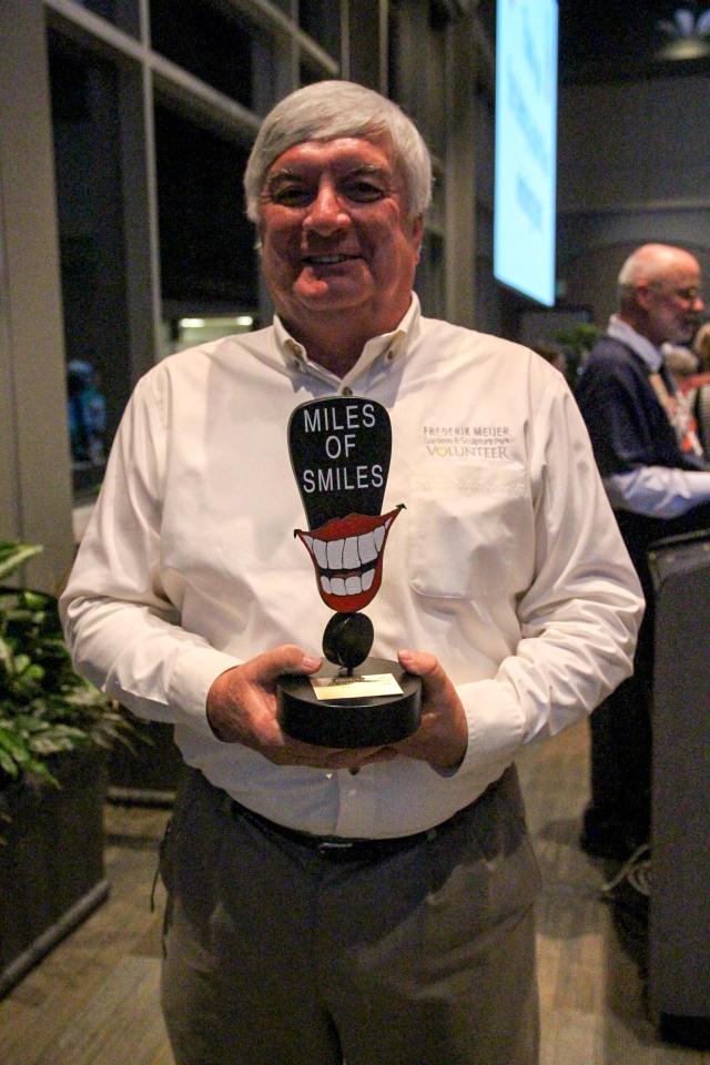 Joe Taber, Miles of Smiles Award