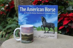 To remember your visits to Frederik Meijer Gardens & Sculpture Park! The American Horse book - $11.99, Meijer Gardens Mug - $9.95