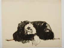 Untitled (Man Sleeping) Rome 1953-54